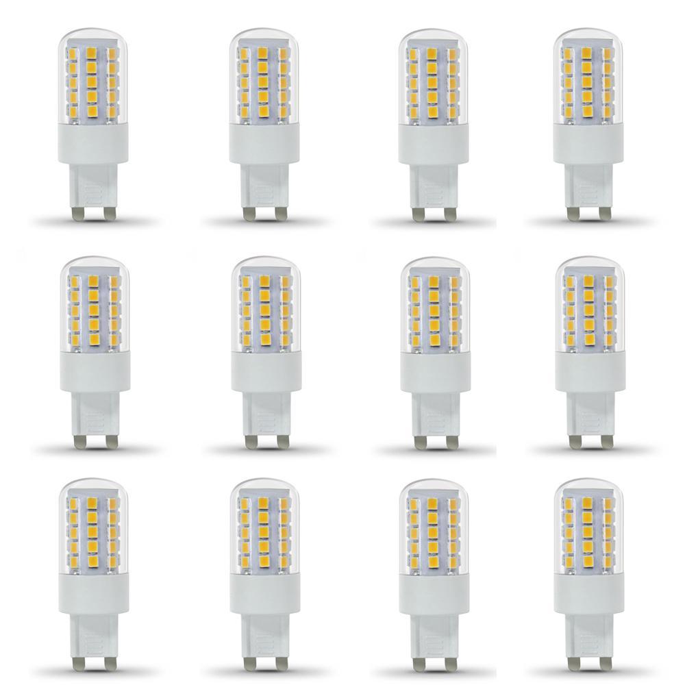 40-Watt Equivalent Daylight (5000K) G9 Bi-Pin LED Light Bulb (12-Pack)