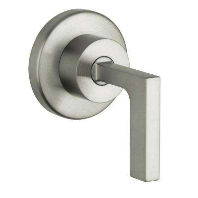 Axor Citterio 1-Handle Valve Trim Kit in Brushed Nickel (Valve Not Included)