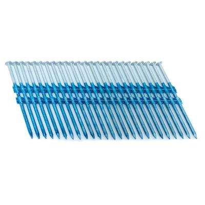 3.25 in. x 0.121 in. 20-Degree Smooth Hot Dip Full Round Head Plastic Strip Nails 3000 per Box