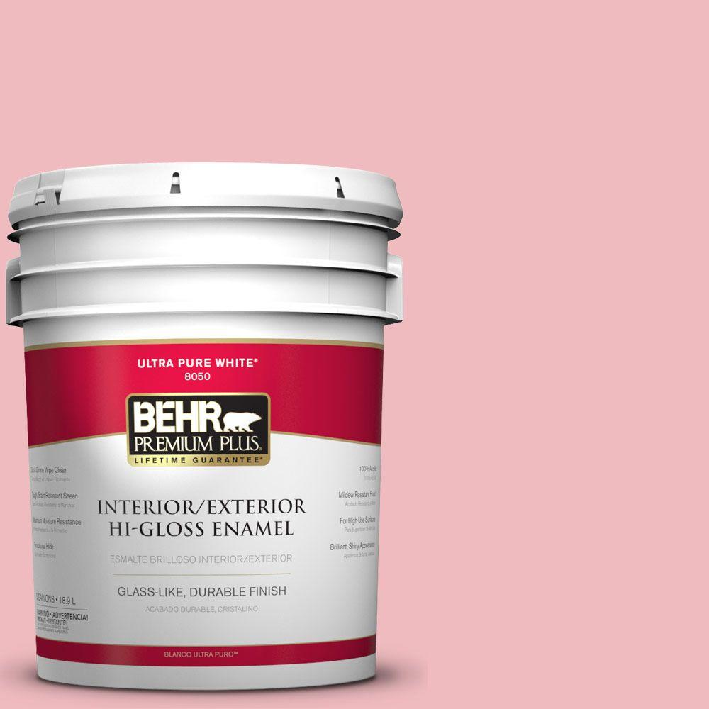 5-gal. #P160-2 Blush Rush Hi-Gloss Enamel Interior/Exterior Paint