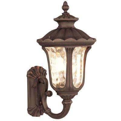 Providence Wall-Mount 1-Light Outdoor Imperial Bronze Incandescent Lantern