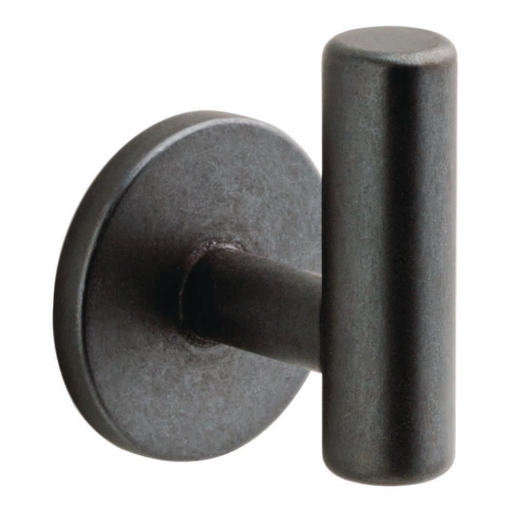 Liberty 2-1/32 in. Soft Iron Single Post Wall Hook