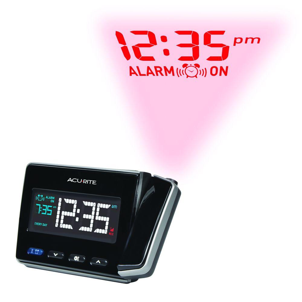 Atomic Projection Clock with USB Charger