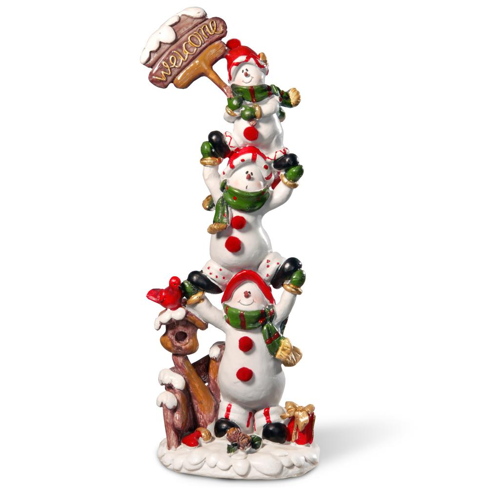 Home Accents Holiday 12.5 in. Animated Holiday Downtown-NM-X11646FA ...