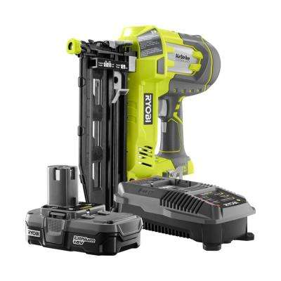 18-Volt ONE+ AirStrike 16-Gauge Cordless Straight Finish Nailer Kit