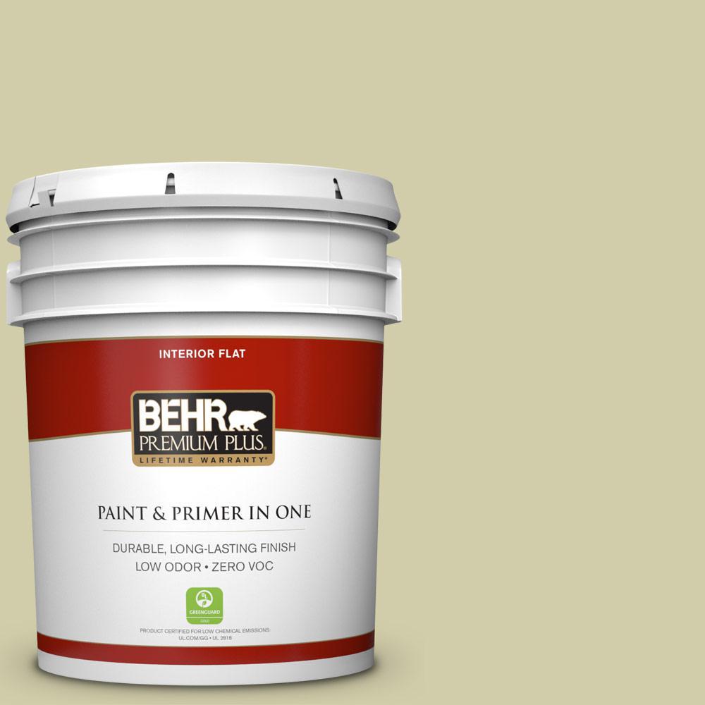 BEHR Premium Plus 5-gal. #S340-3 Hybrid Flat Interior Paint