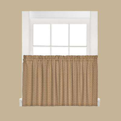 Hopscotch 24 in. L Polyester Tier Pair in Tan