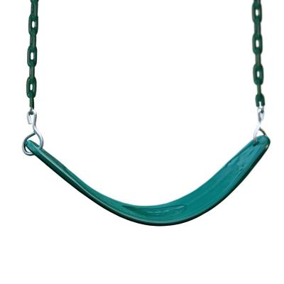 Green Extreme-Duty Swing Belt with Green Chains