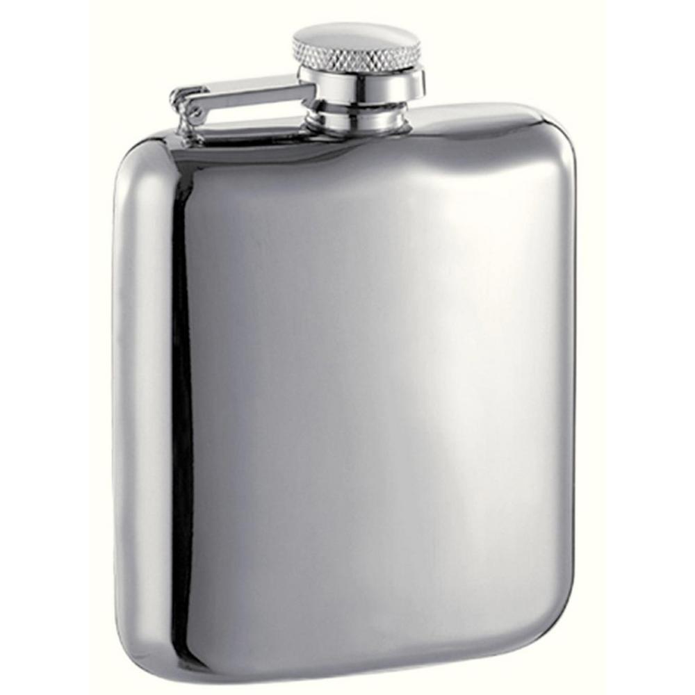 Providence 6 oz. High Polish Liquor Flask