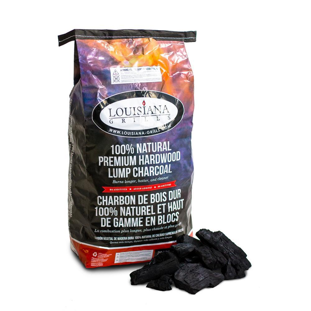 20 lb. Premium Hardwood Lump Charcoal