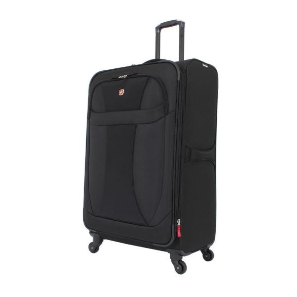 eee002e2fc73 29 in. Lightweight Spinner Suitcase in Black