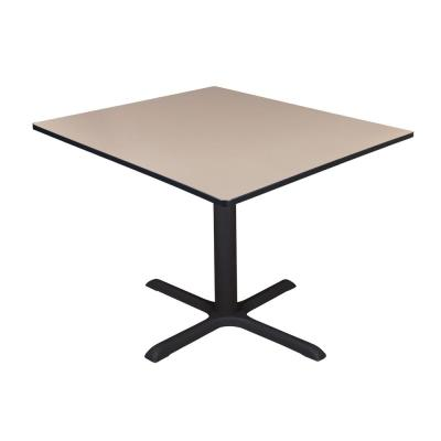 Cain Beige Square 48 in. Breakroom Table
