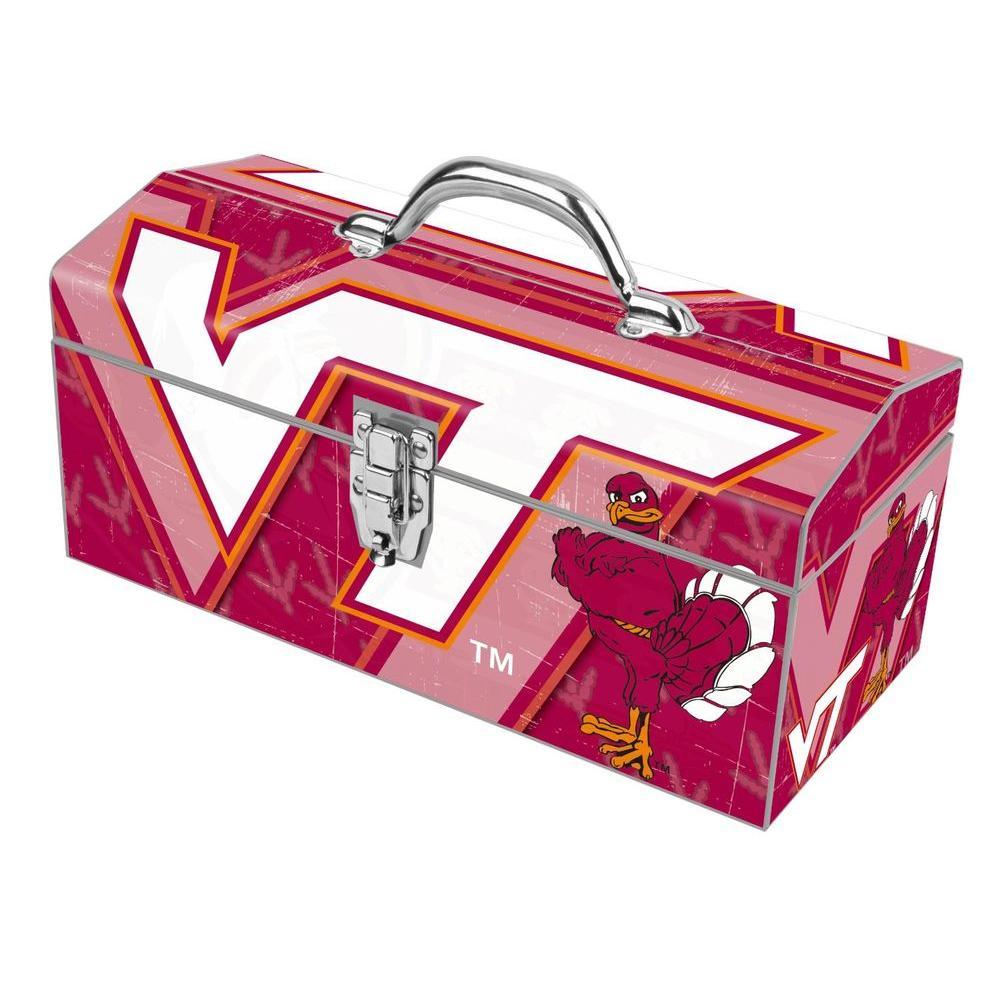 16 in. Virginia Tech Hokies Art Tool Box