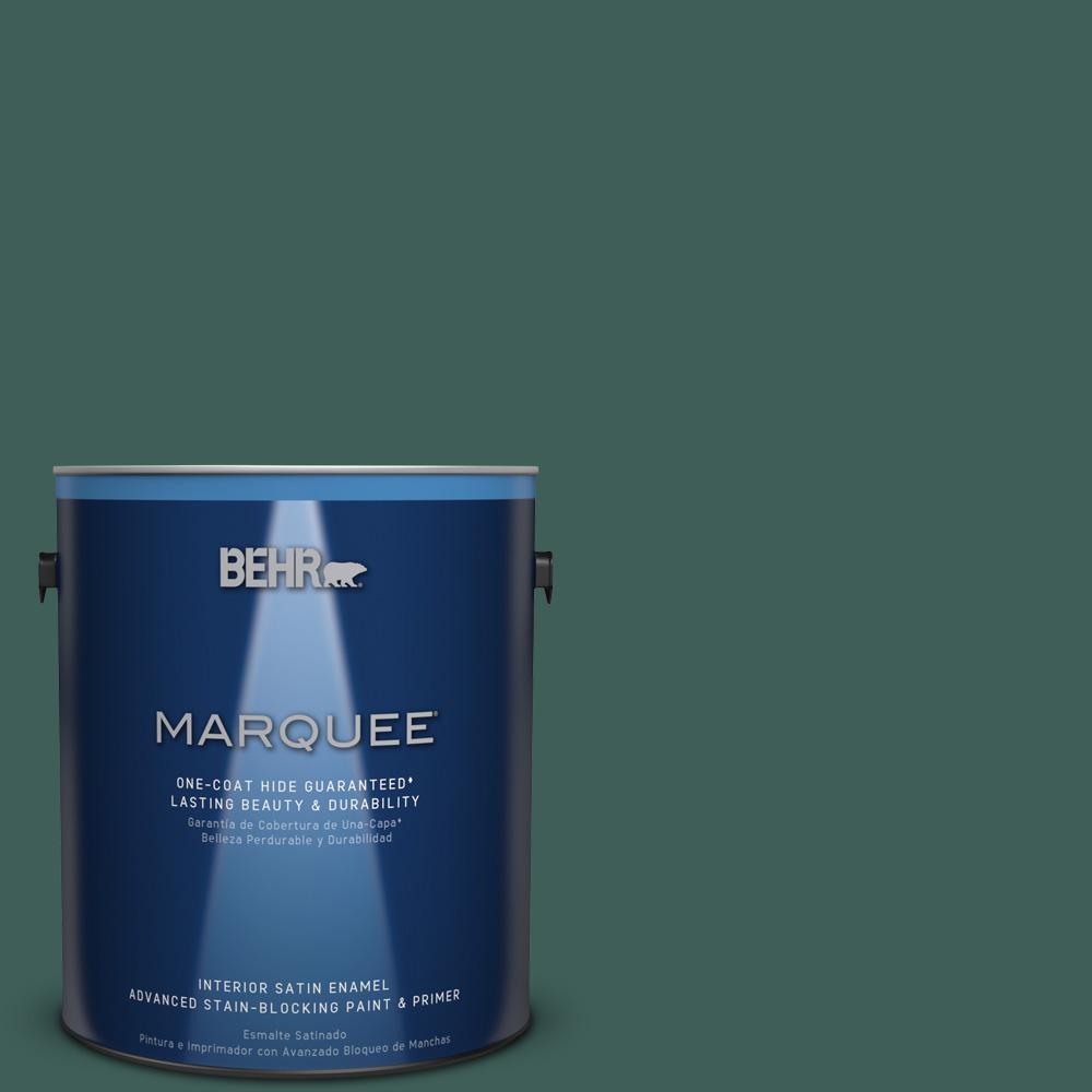 1 gal. #T18-20 Equilibrium Satin Enamel Interior Paint