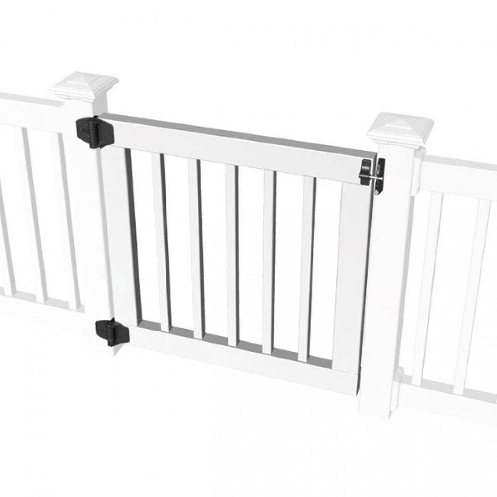 Standard Gate Kit for 36 in. Square Baluster Original Rail, Deck Rail, Porch Rail or Titan XL