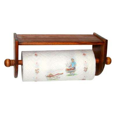 Pine Wall Mount Towel Holder