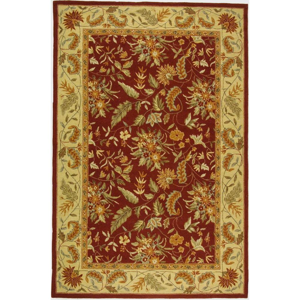 Safavieh Chelsea Red 5 ft. 3 in. x 8 ft. 3 in. Area Rug