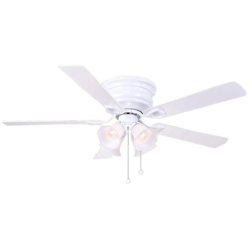 High Quality Indoor White Ceiling Fan With Light Kit