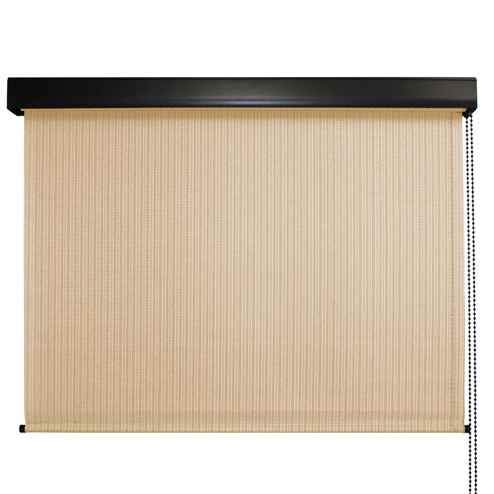 Roller Shades Product : Seasun clearwater premium pvc fabric exterior roller shade