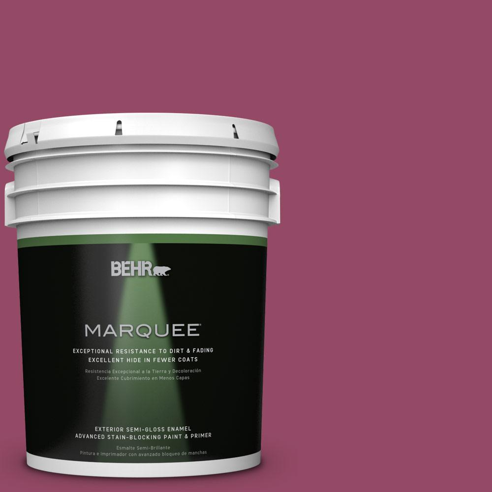 BEHR MARQUEE 5-gal. #P120-7 Glitterati Semi-Gloss Enamel Exterior Paint