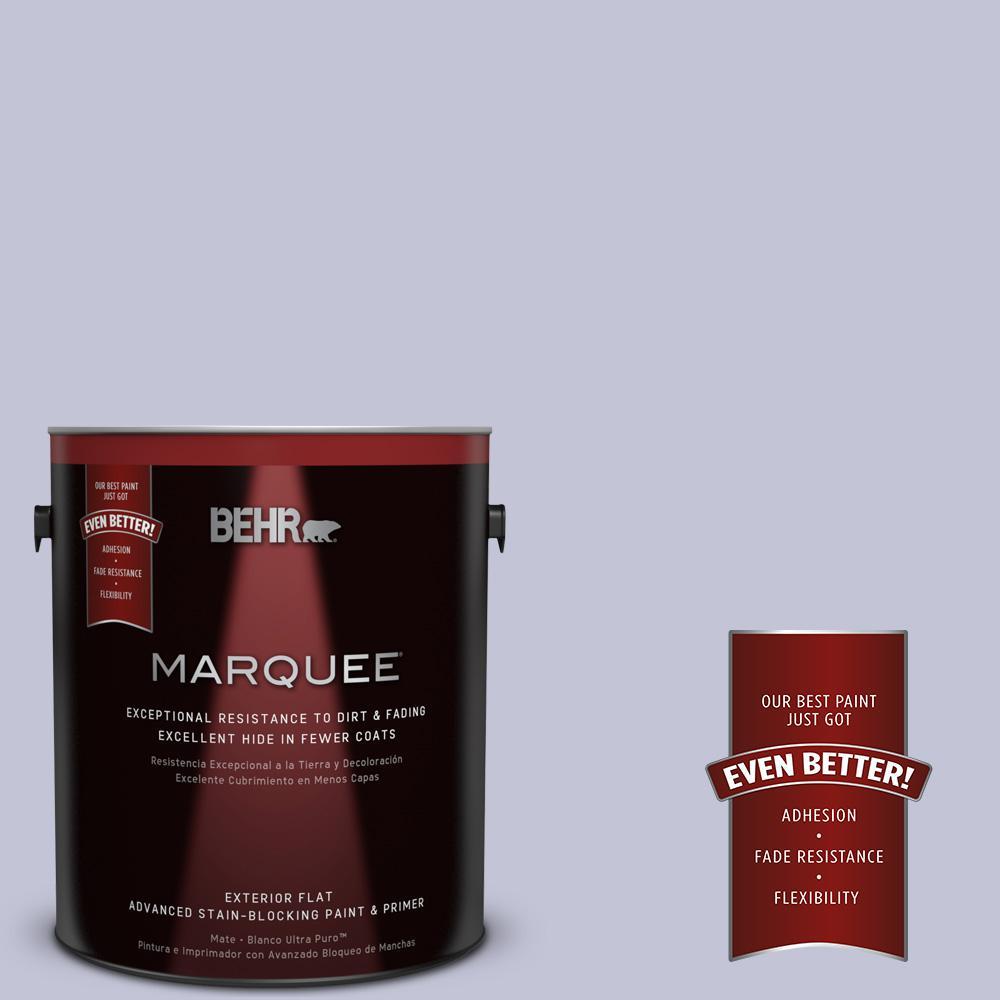 BEHR MARQUEE 1-gal. #630E-3 Grape Lavender Flat Exterior Paint