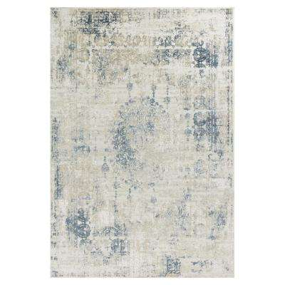 Vintage Chic Ivory/Beige 8 ft. 9 in. x 13 ft. Area Rug