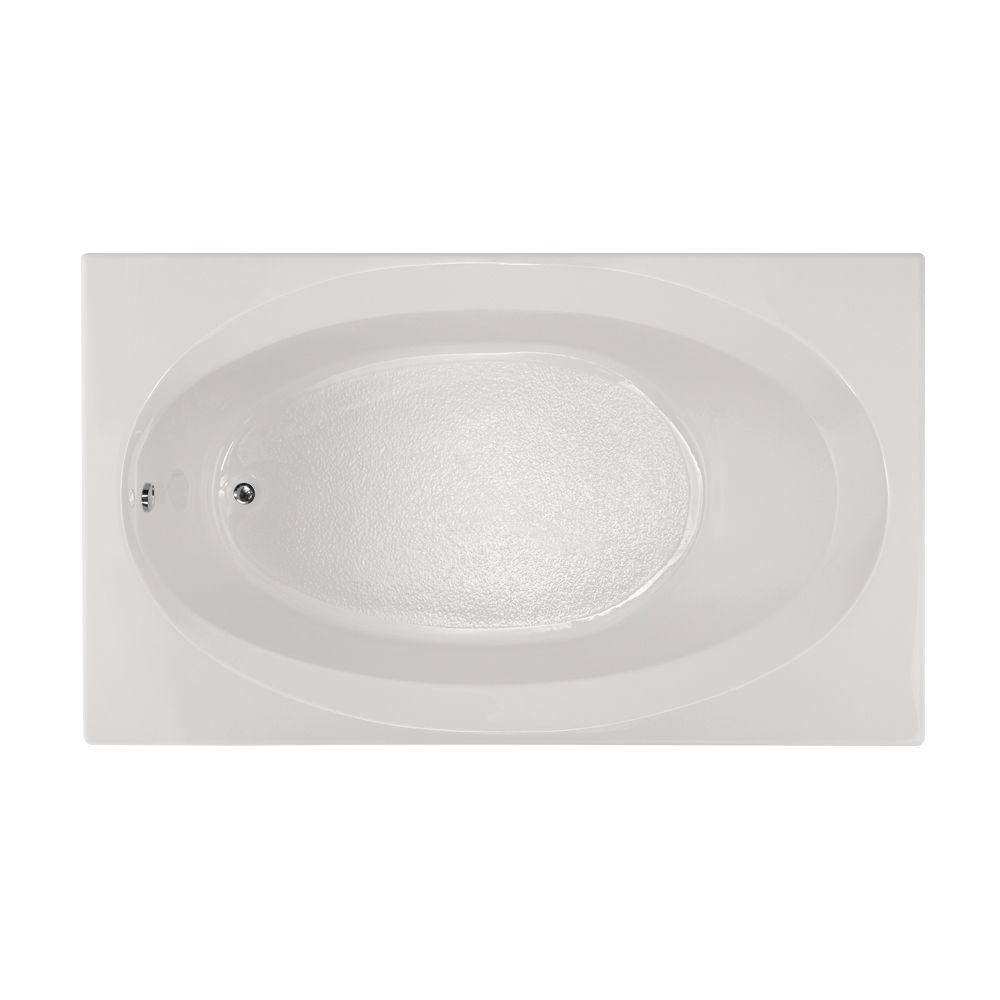 Hydro Systems Studio 6 ft. Reversible Drain Bathtub in White ...