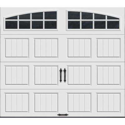 Gallery Collection 8 ft. x 7 ft. 18.4 R-Value Intellicore Insulated White  sc 1 st  The Home Depot & Insulated - Garage Doors - Residential Garage Doors Openers ...