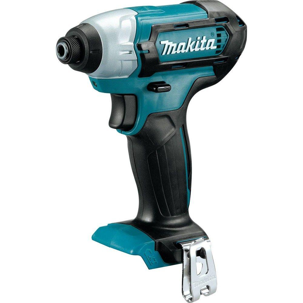 makita 12 volt cxt lithium ion 1 4 in cordless impact. Black Bedroom Furniture Sets. Home Design Ideas