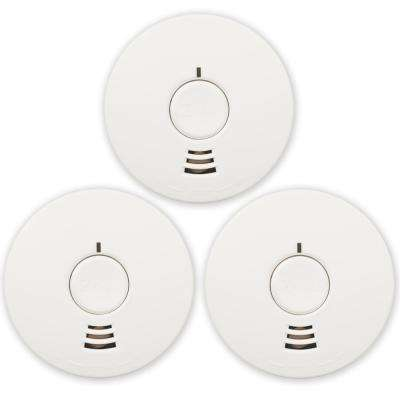 Micro 10-Year Battery Operated Ionization Smoke Detector (3-Pack)