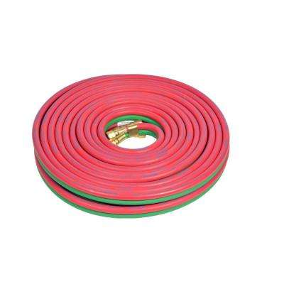 1/4 in. x 50 ft. Grade T-Gemini Welding Hose