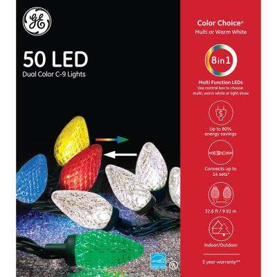 Color Choice 50-Light C9 Diamond Cut Set