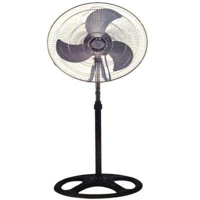 18 in. Industrial Standing Fan Shop Commercial House High Velocity Oscillating Blower 2-Year Warranty