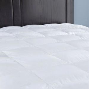 Puredown Down Mattress Pad Topper Quilted 100 Cotton Top Block