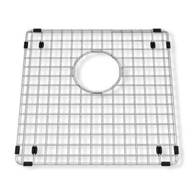 Prevoir 14-1/4 in. Square Kitchen Sink Grid in Stainless Steel