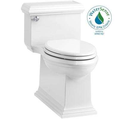 Memoirs Classic 1-Piece 1.28 GPF Single Flush Elongated Toilet in White