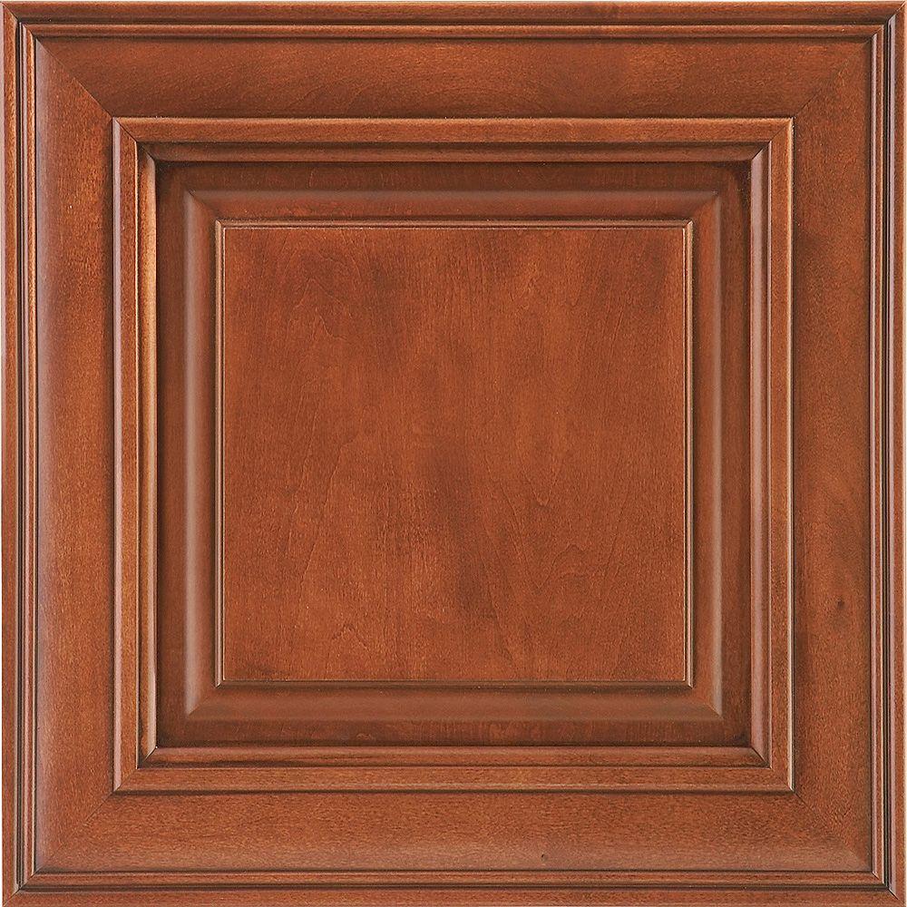 Glazed Kitchen Cabinet Doors: American Woodmark 14-9/16x14-1/2 In. Cabinet Door Sample