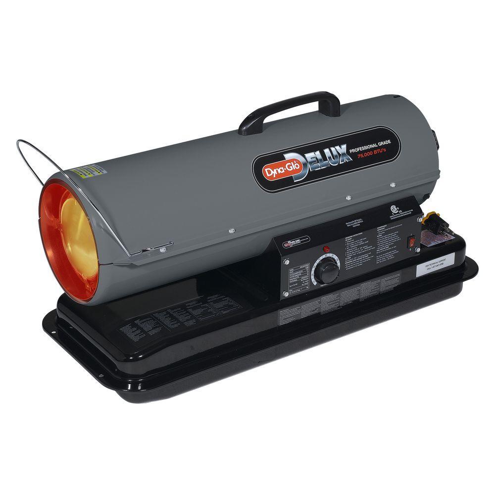 Dyna-Glo Delux 75K BTU Multi-Fuel Portable Heater