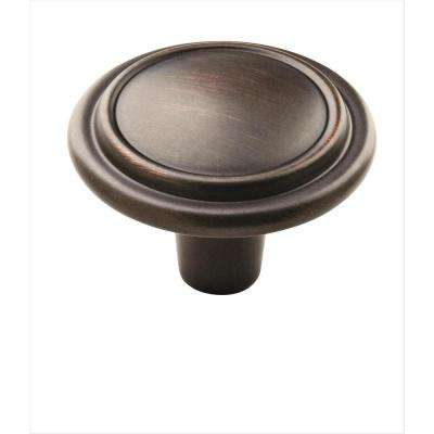 Allison Value 1-1/4 in. (32 mm) Oil-Rubbed Bronze Cabinet Knob (25-Pack)