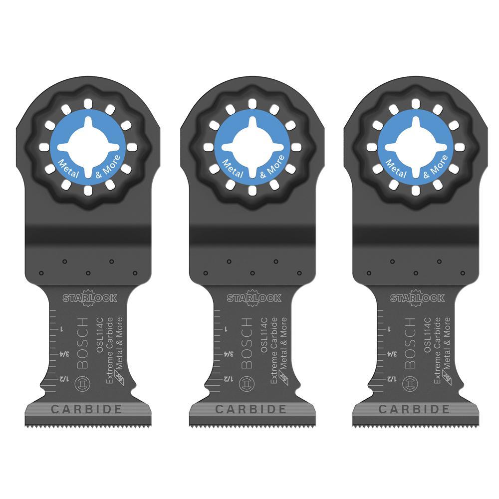 1-1/4 in. Starlock Carbide Plunge Blade Set (3-Piece)