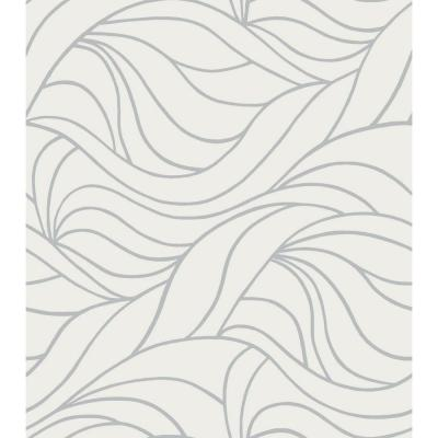 Antwerp 17 in. x 59 in. Home Decor Static Cling Window Film (2-Pack)