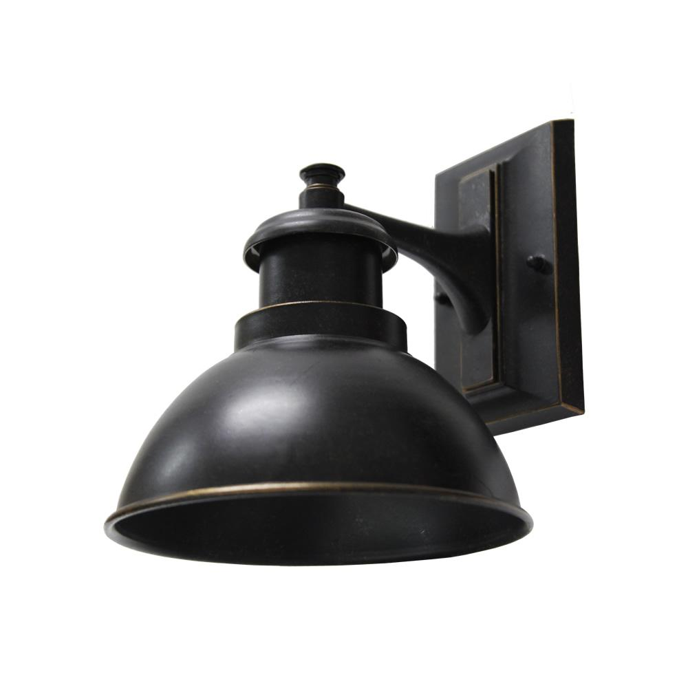 Y Decor 1 Light Oil Rubbed Bronze Outdoor Wall Mount