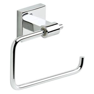 Franklin Brass Maxted Single Post Toilet Paper Holder in Chrome by Franklin Brass