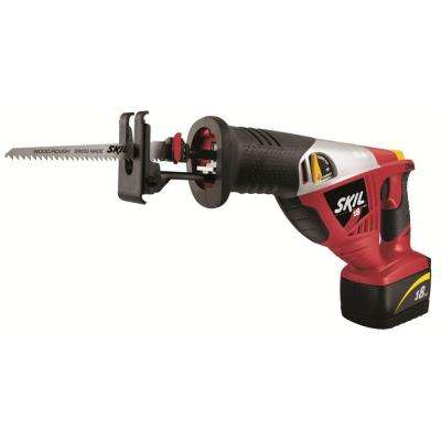 Factory Reconditioned Ni-Cad Cordless Electric Reciprocating Saw Kit with Battery