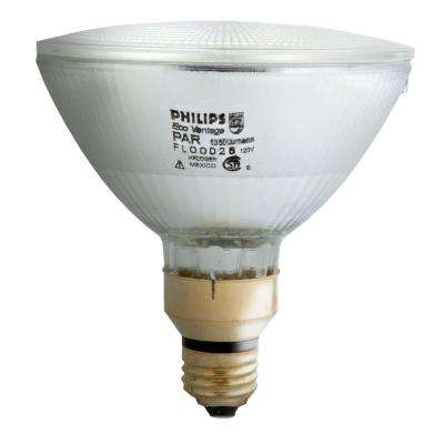 90-Watt Halogen PAR38 Indoor/Outdoor Flood Light Bulb (2-Pack)