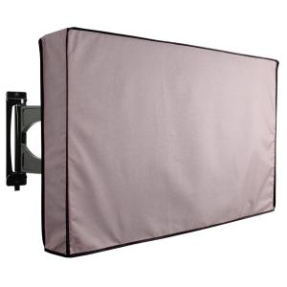 60 in. to 65 in. Grey Outdoor TV Universal Weatherproof Protector Cover