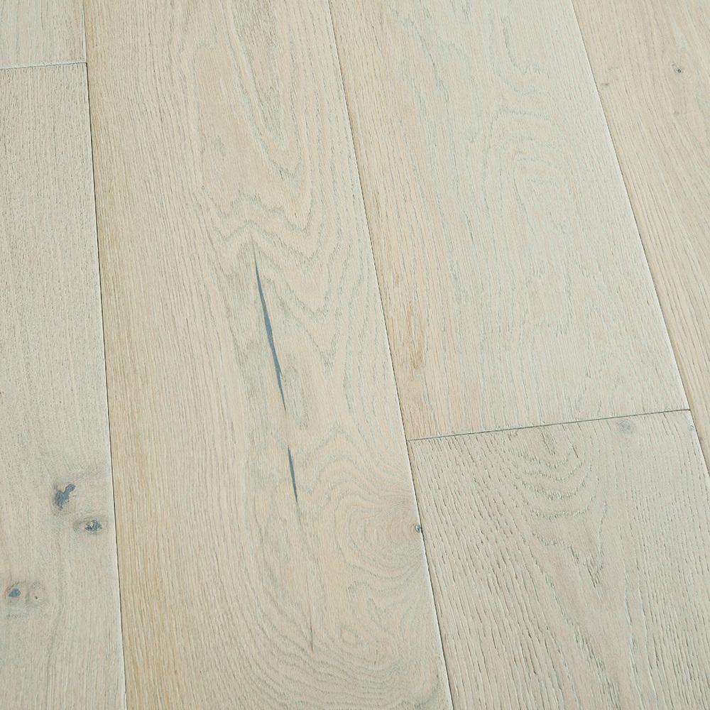 Malibu Wide Plank Take Home Sample French Oak Salt Creek Click Lock Hardwood Flooring 5 In. X 7 In.