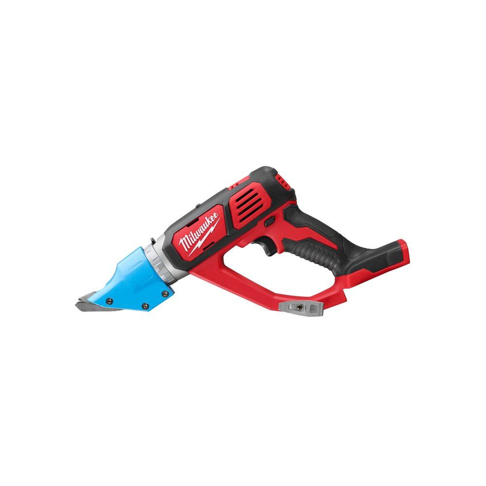 Milwaukee M18 18-Volt Lithium-Ion Cordless 16-Gauge Double Cut Metal Shear (Tool Only)