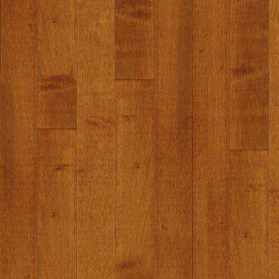 Take Home Sample - Cinnamon Maple Solid Hardwood Flooring 5 in. x 7 in.