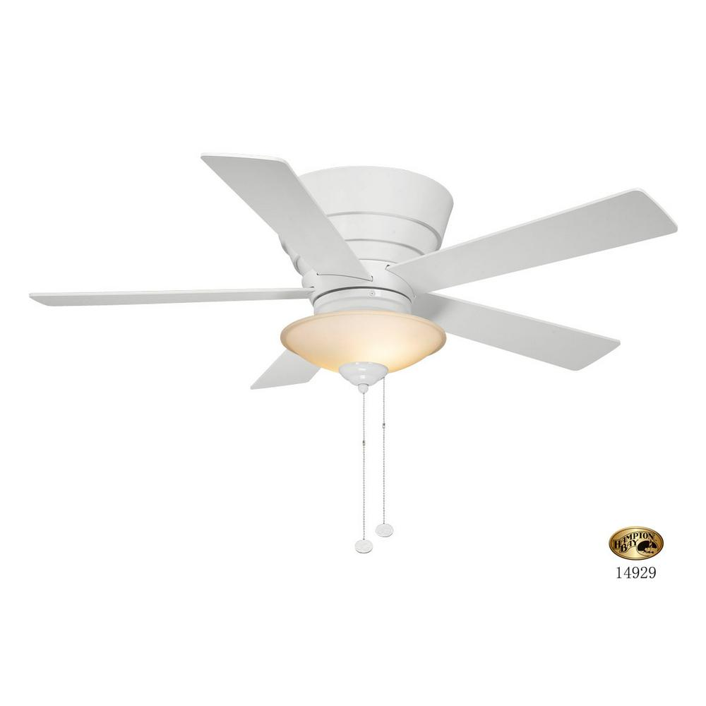 Hampton bay outdoor ceiling fans lighting the home depot indoor white ceiling fan with light kit audiocablefo